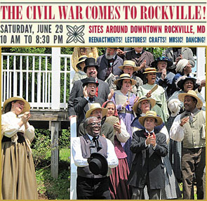 The Civil War Comes to Rockville